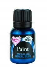 Metallic Food Paint - Metallic Royal Blue