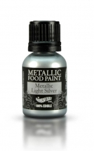 Metallic Food Paint - Metallic Light-Silver